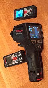 Bosch Measuring Devices: GLM 50 C, GLM 100 C and GIS 1000 C Professional