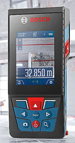 Bosch pretest laser measurer - on the U.S.-market as Bosch Blaze GLM400CL